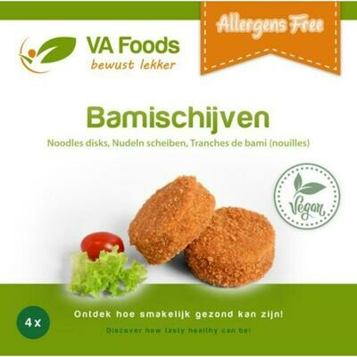 Bamischijf va 4 x 80 gr allergene vrij ( gluten vrij )