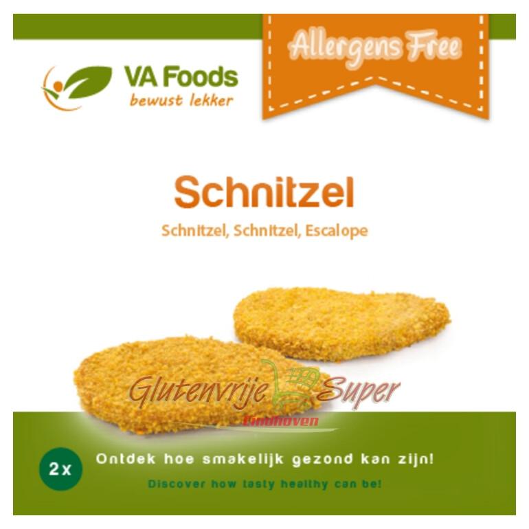 Schnitzel va 2 x 125gr allergene vrij ( glutenvrij )