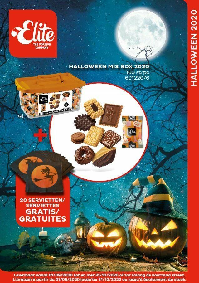 Elite halloween mix box 2020 koekjes 160st