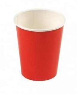 Karton cup 20ST/BIO/RED 6CL Duni