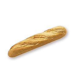 Wit broodje 27cm 5st