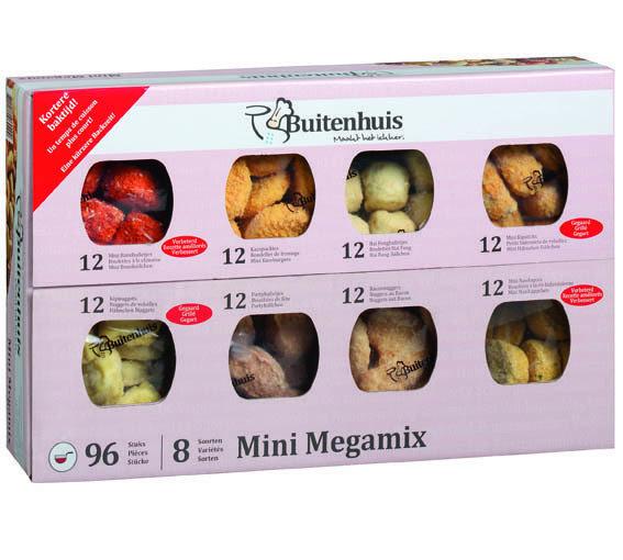 Mini Mega mix 96 x 20 gr / 8 srt BH