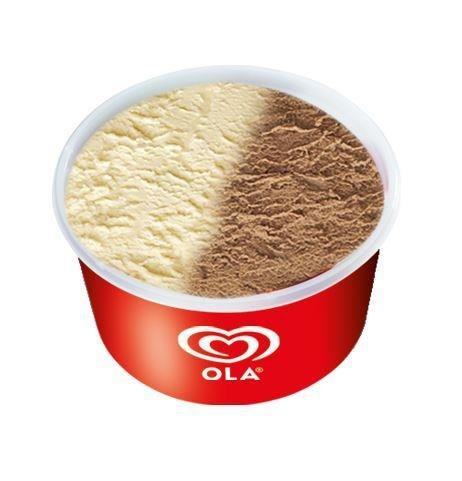 OLA cup van/choc 24x120 ml