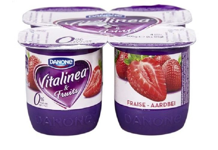 Fruityoghurt vitalinea 0 % 125 gr