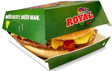 Bicky Royal Burger 16 x 165g
