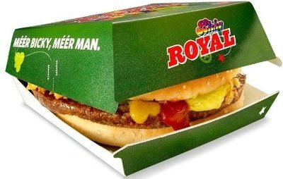Bicky Royal Burger 16 x 165g