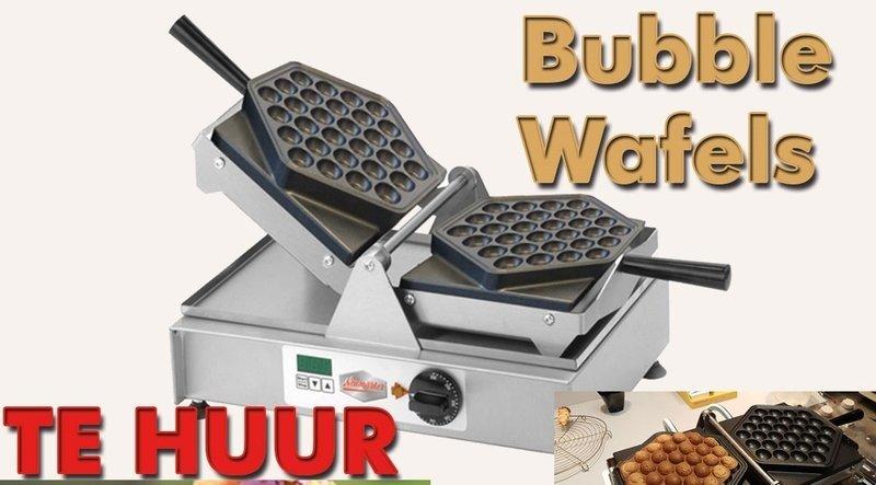 Bubbelwafels machine bruikleen
