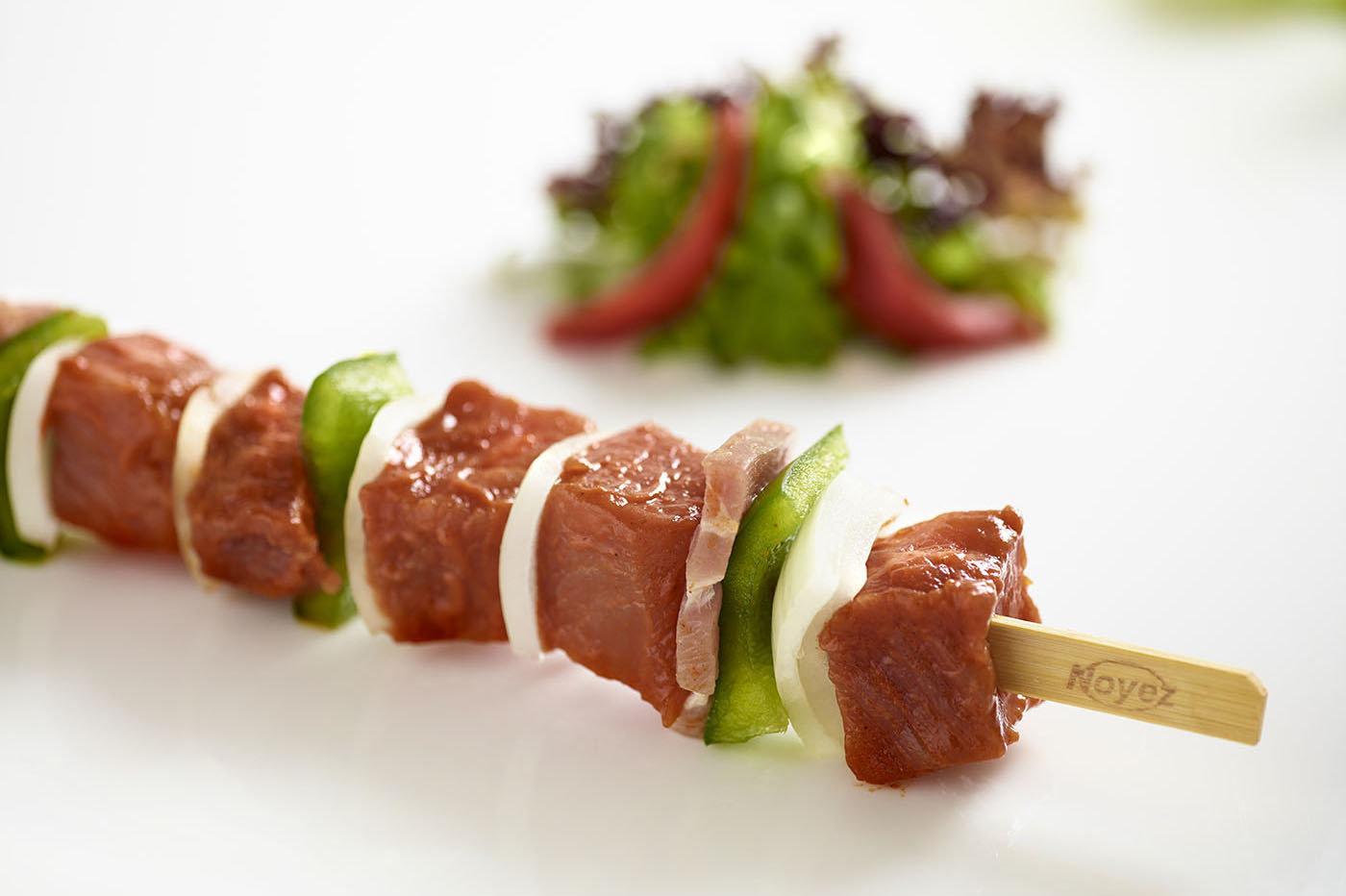 Schaslick  vlees-ajuin-spek-paprika 20 x 150g