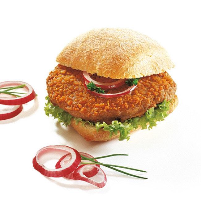Prohalal crumpy hamburger 25 x  115gr