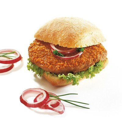 Prohalal crumpy hamburger 25 x  115gr