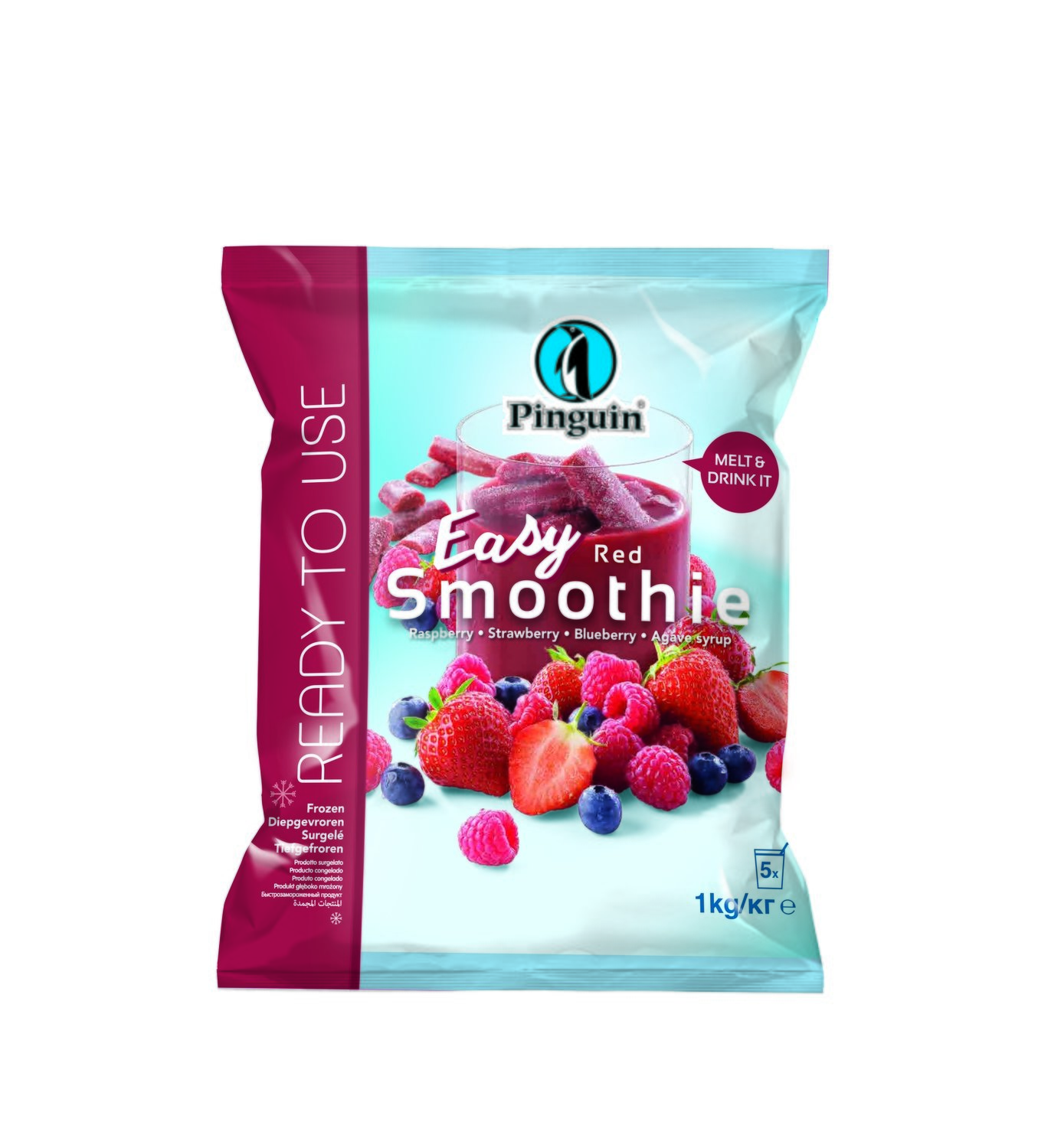 Smoothy rood 1 kg