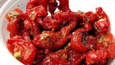Tomaten zon gedr/in olie vers 1 kg
