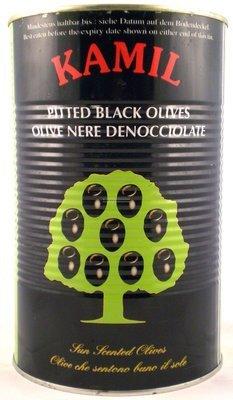 Zwarte olijf 5 l blik