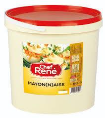 Chef rene mayonaise 80 % 10L