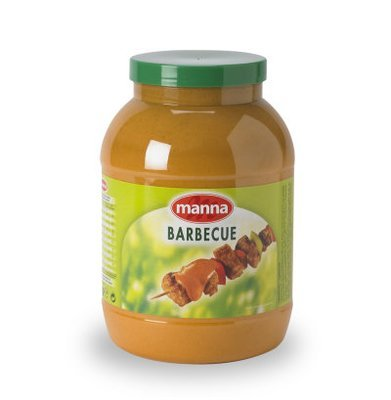 Barbequesaus 2.9kg manna