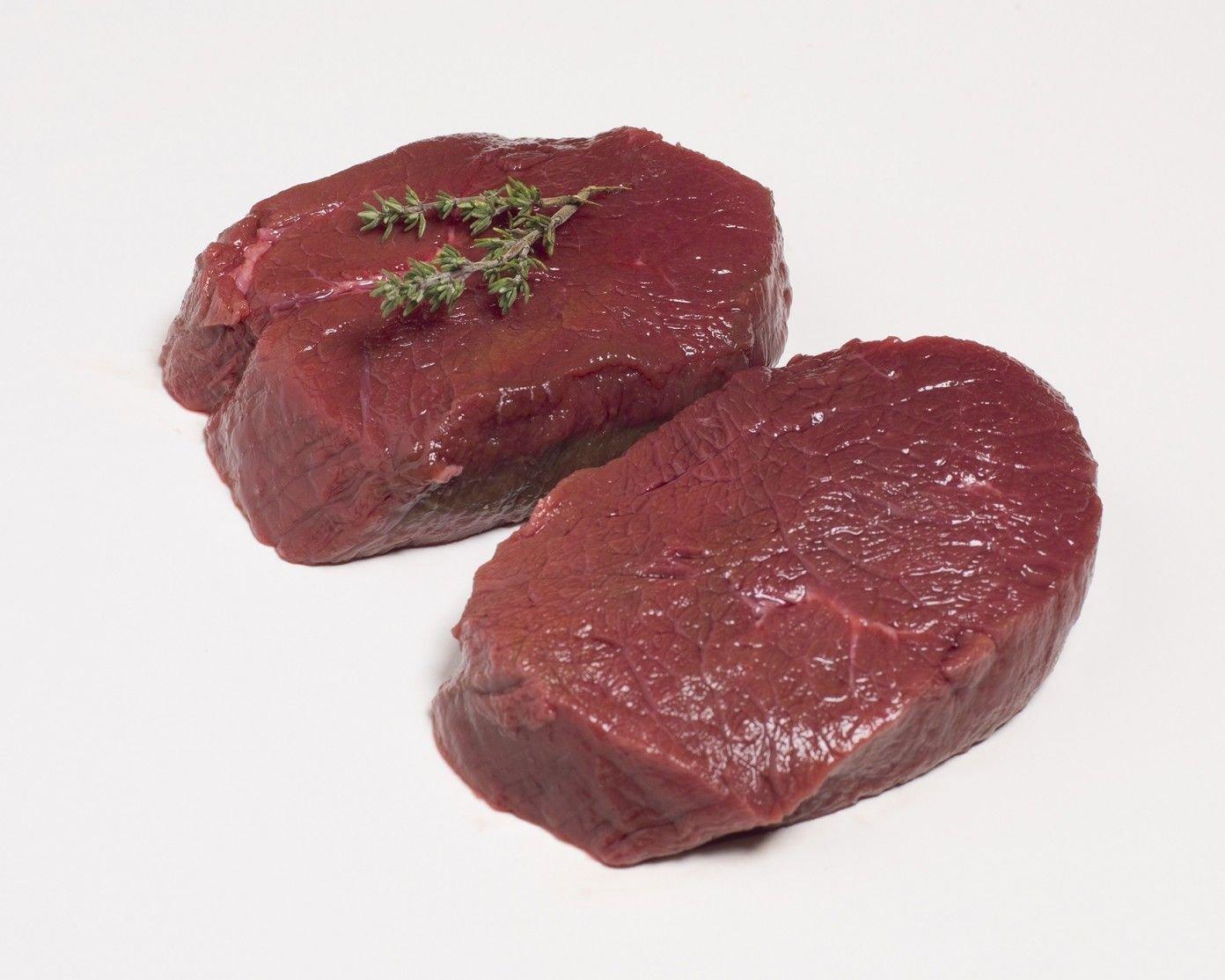 Hert steak 150/180g (prijs per kg)