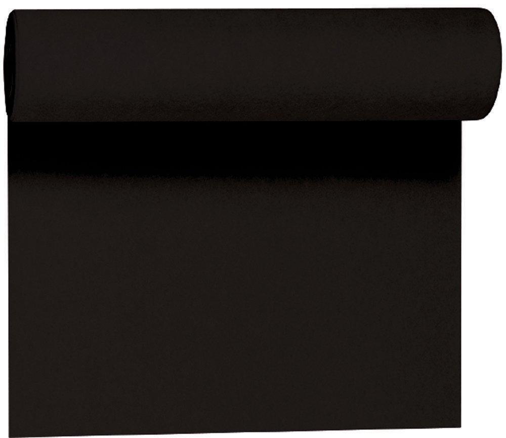 Duni Tête à Tête zwart 0,4 x 24 m