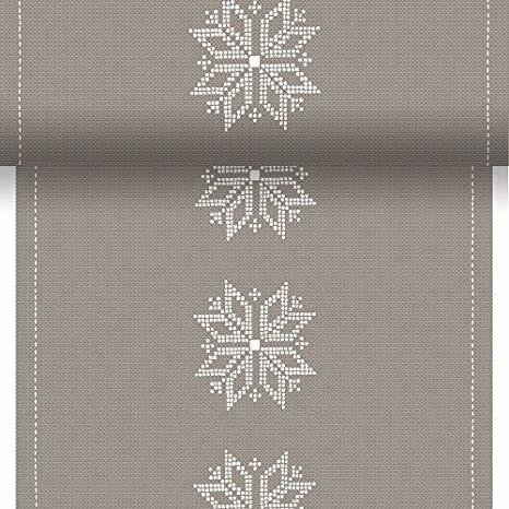Duni tete a tete knitting grey 0,4 x 24m