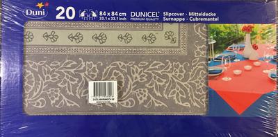 Duni napperon MARRAKECH GR . 84  84 cm 20st