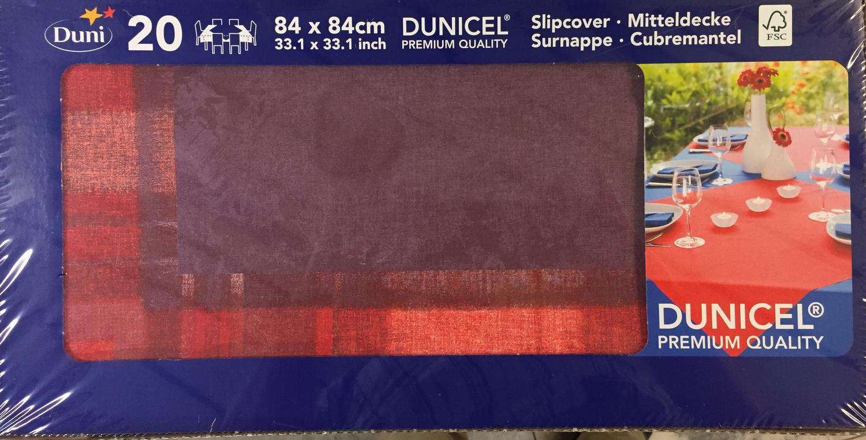 Duni napperon ENDLESS SUMMER 84 x 84 cm 20st