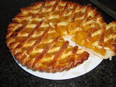 Abrikozen taart 10 punten