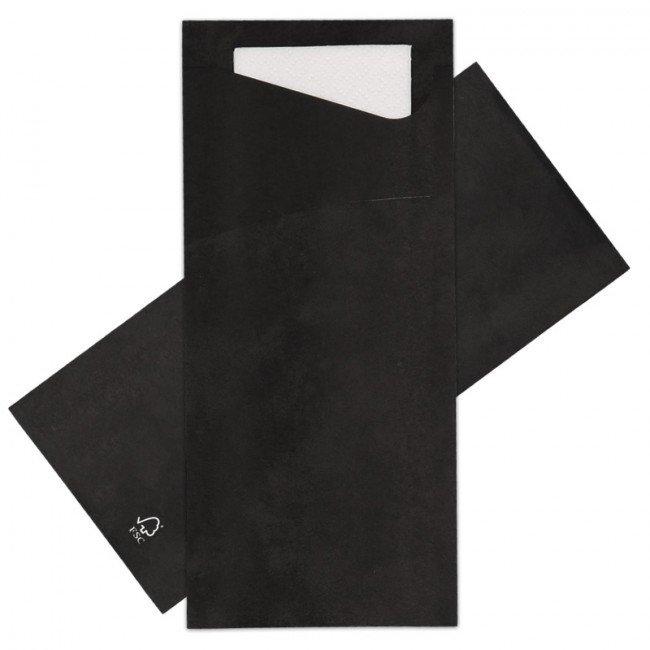 Sacchetto zwart 100 st