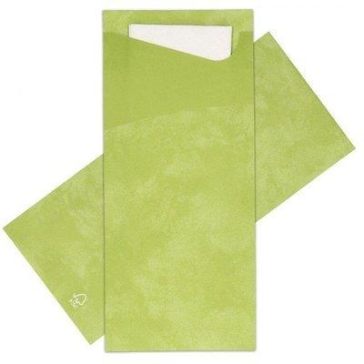 Sacchetto leaf green 100 st
