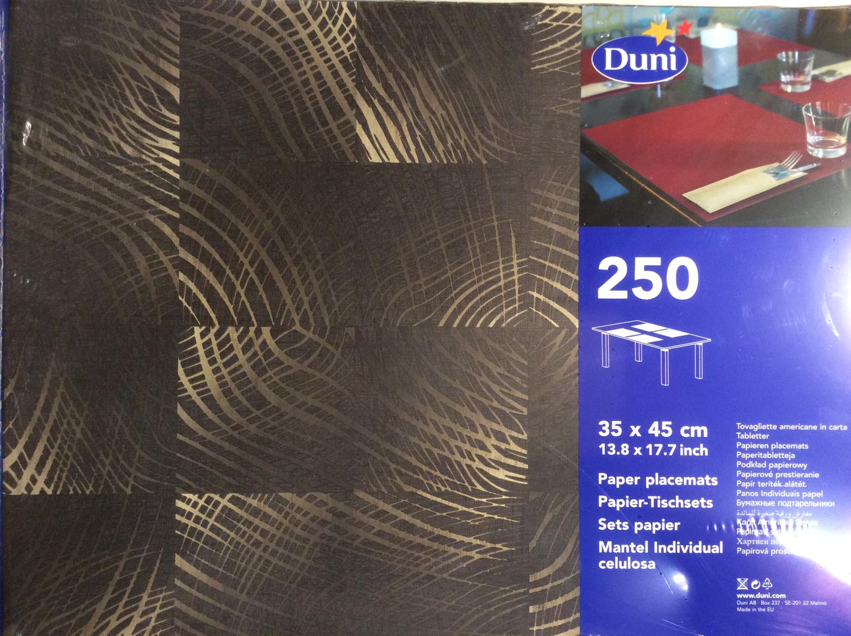 Duni tableau big ebony 250 st
