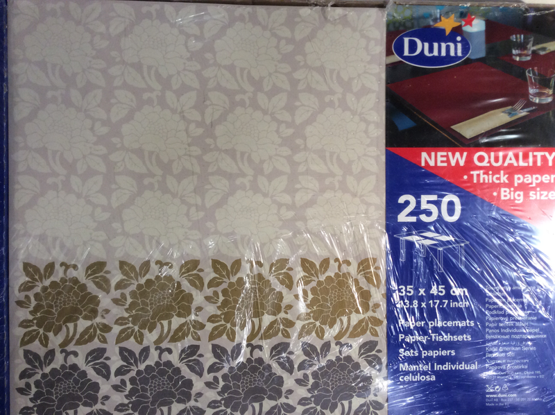 Duni tableau flower big 35 x45 250st
