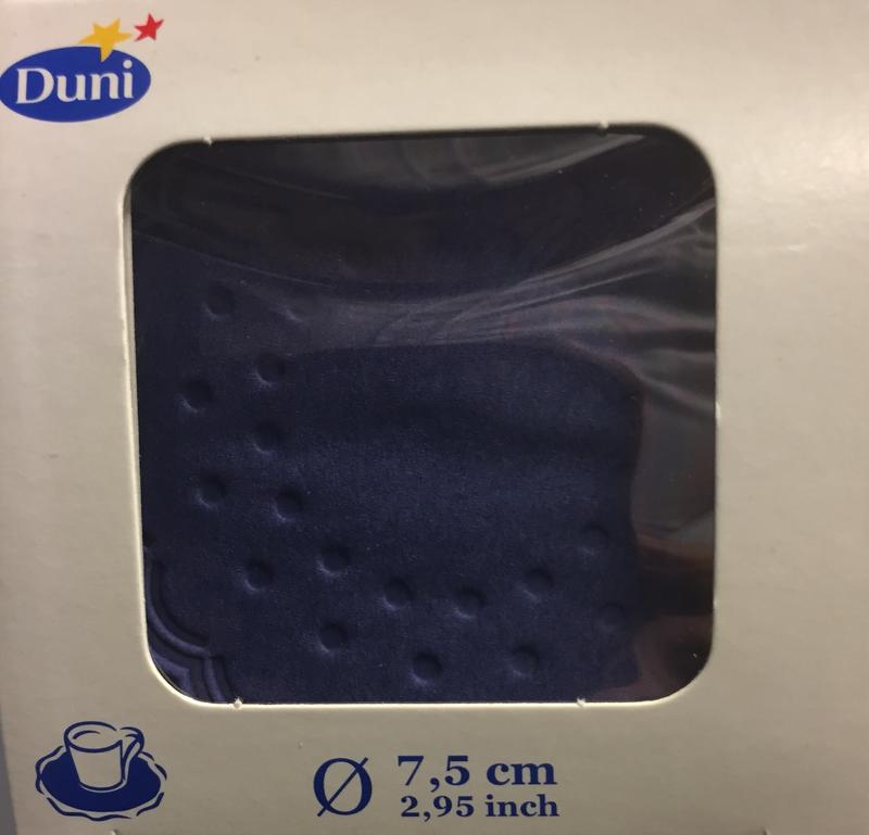 Druppelvanger blauw 8 laag 7,5cm 250st