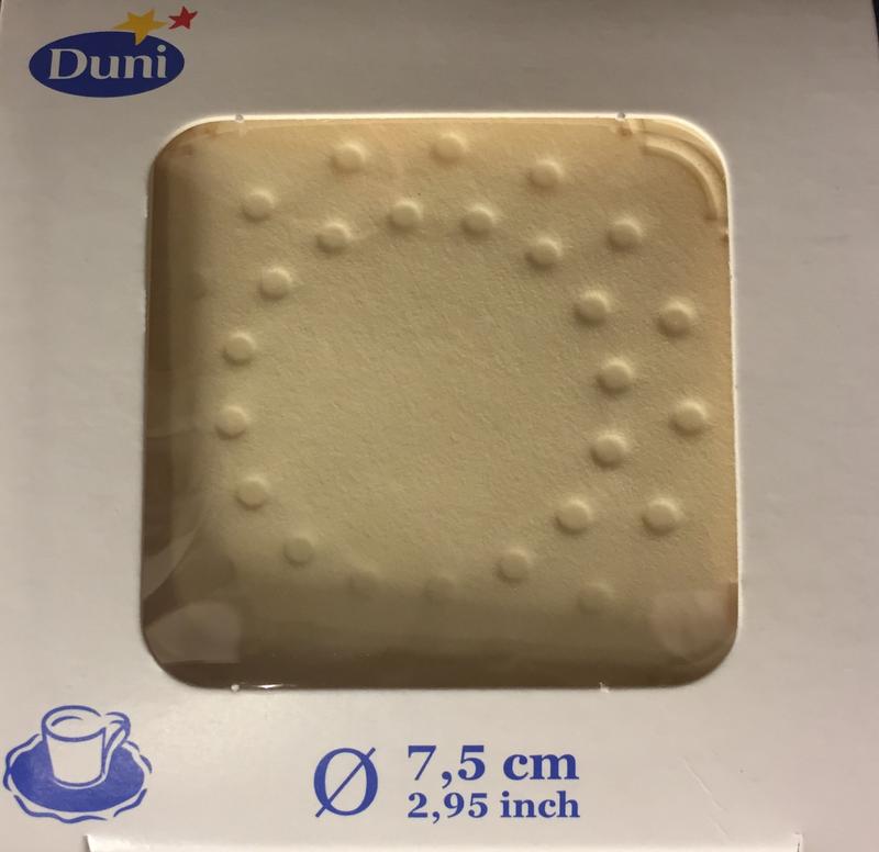 Druppelvanger cream 8lg 7.5cm 250st