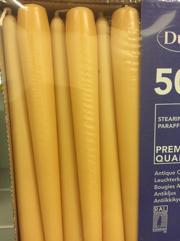 Duni kaars mango 50st