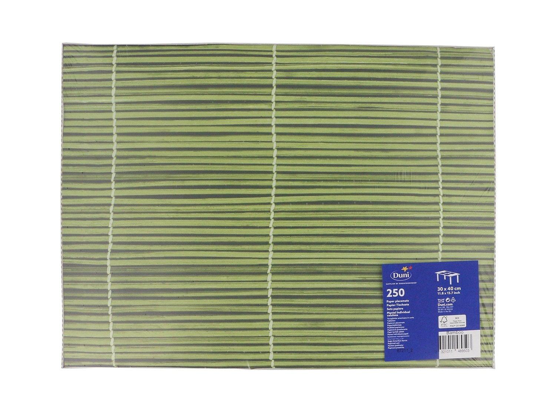 Duni tableau bamboo 30 x 40 250st