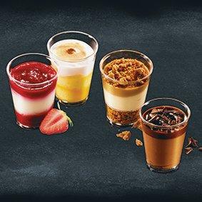 mini desserts mix 12 x 66ml