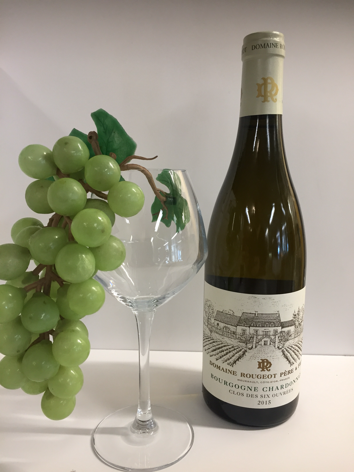 Domein Rougeot chardonnay bourgogne 2015 75cl
