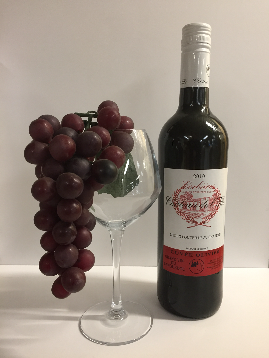 Chateau de Lille cuvee olivier rood 2010