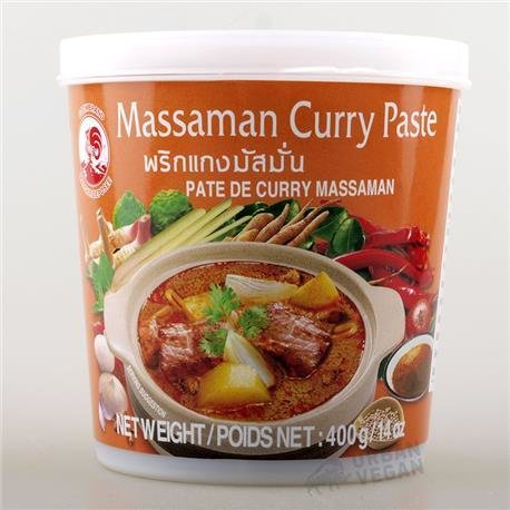 Massaman curry pasta 400gr