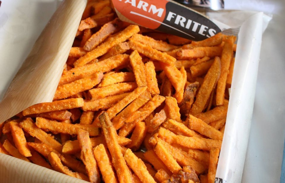 Zoete frieten/Sweet Potato Fries FF 1 kg