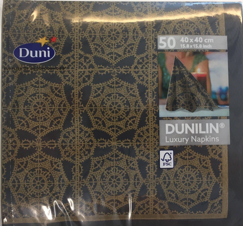 Dunilin servetten vintage 40 x 40cm 50st