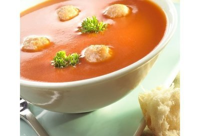 Tomatenroom soep met balletje 3 L