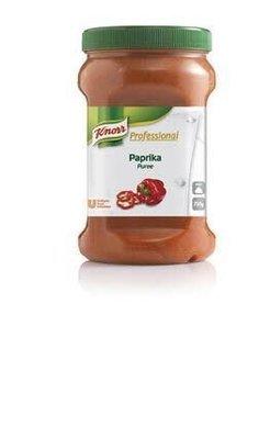 Kruidenpuree paprika 750 gr knor