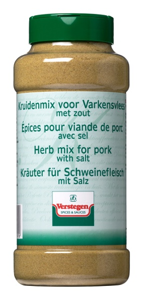 Varkensvleeskruiden met zout Verstegen 950g