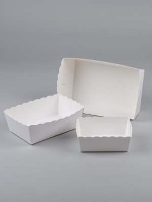 Karton friet bakje NR 3 (pl 3) 100st prijs per 1000st