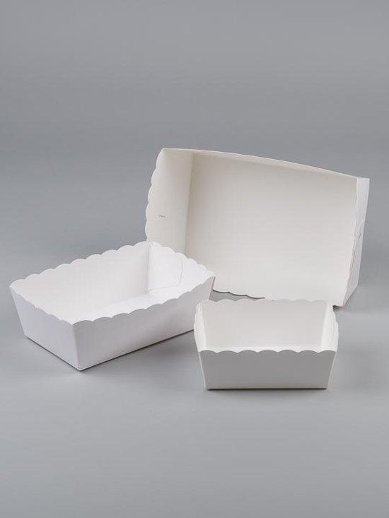 Karton friet bakje NR 4 (pl 4) 100 st prijs per 1000st