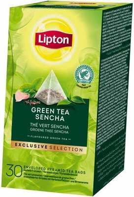 Thee pyramide Green Sencha 25st Lipton