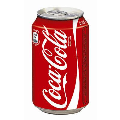 Coca cola blik 30 x 33 cl