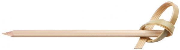 Prikker met knoop bamboe 15cm 250st