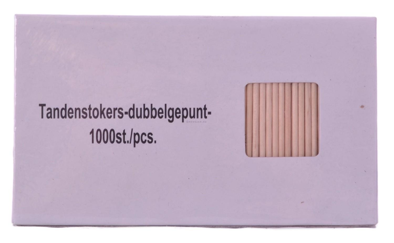 Tandenstoker hout 1000st