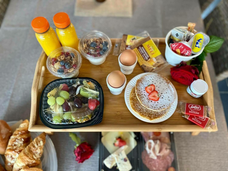 Luxe ontbijt aan huis