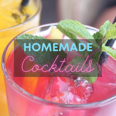 Vers bereide cocktail: Cosmopolitan